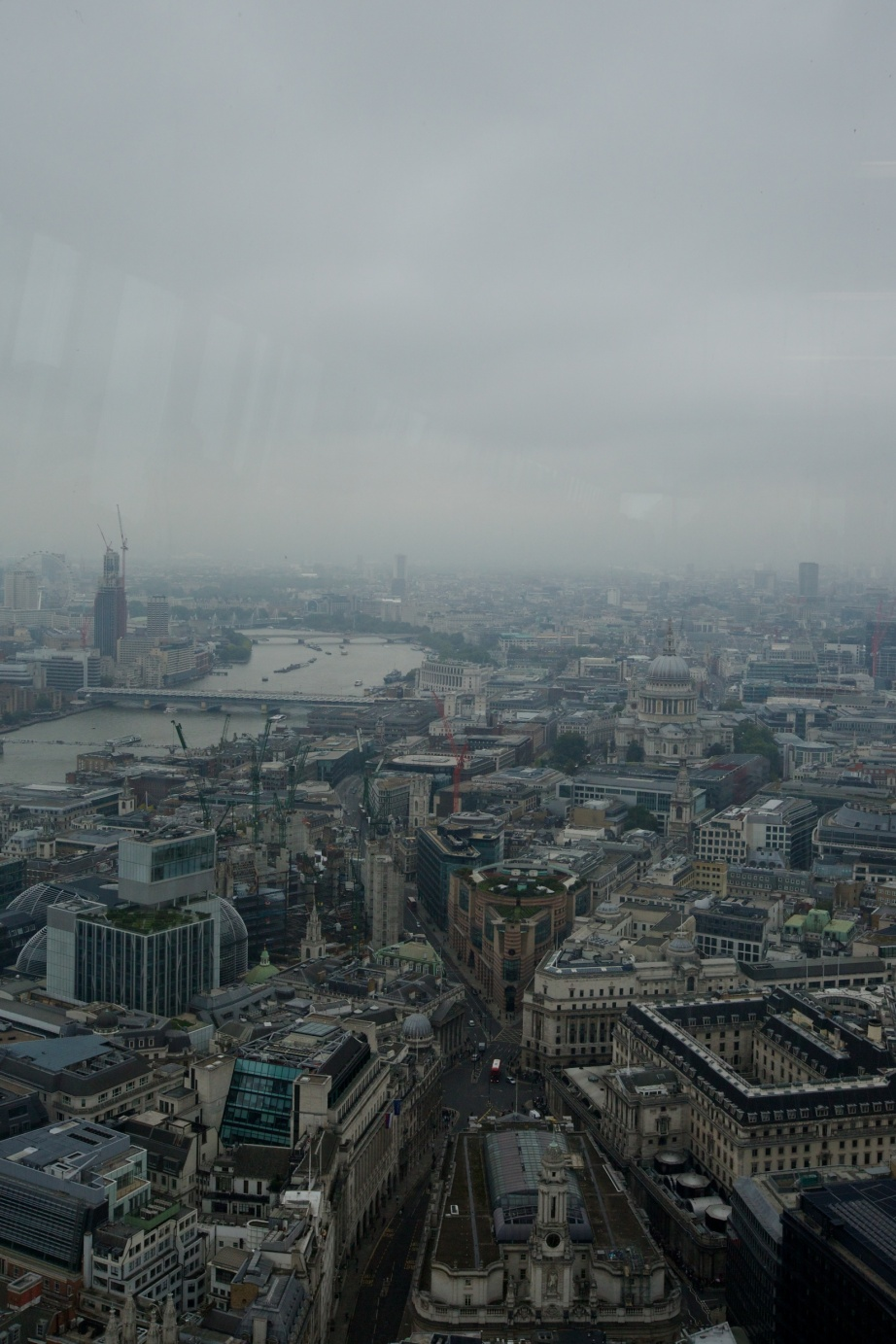 The Leadenhall Building, View from the 40th Floor